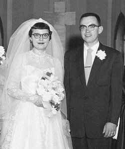 Mr. & Mrs. Carl Nicol - 1955