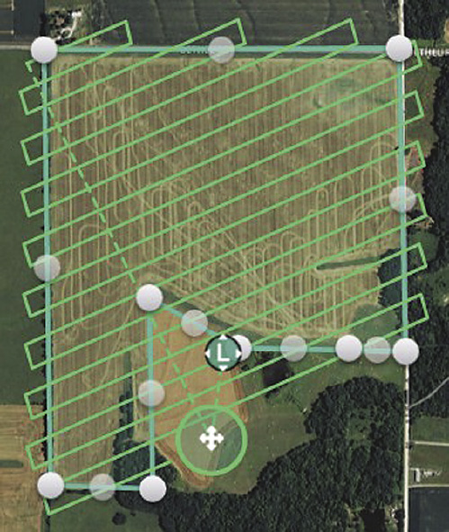 A good scientific map can save the farmer time, energy and chemicals.