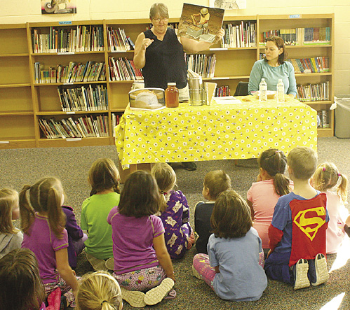 Arnold Apiaries visited the Carsonville Elementary School and talked about fun facts of honey bees. Students learned that honey bees are environmentally friendly and are vital as pollinators.
