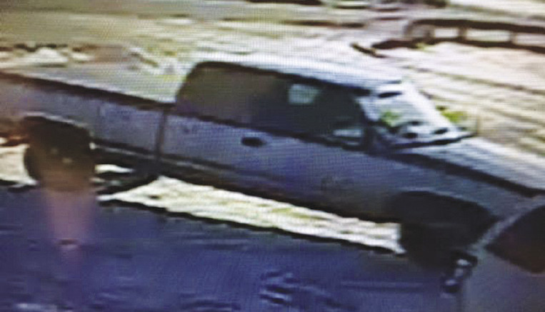 This picture, taken with surveillance equipment from a local business, depicts the vehicle the suspect used in the robbery. Anyone with information regarding the robbery is urged to contact the St. Clair County Sheriff's  Department at (810) 985-8115